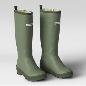 Rain Gardening Waterproof Boots